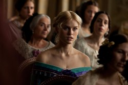 Alice Eve - screencaps from The Raven