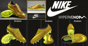 Download Nike Hypervenom Phantom Premium FG - Gold/Volt/Black