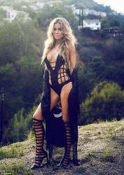 Carmen Electra - Galore magazine Summer 2014