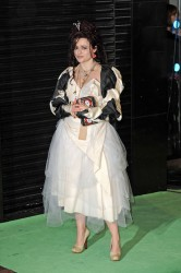 Helena Bonham Carter at the Alice in Wonderland Royal World Premiere and afterparty in London 2/26/10