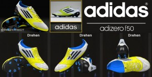 Download Adidas F50 Micoach White Lime Onyx by Ron69