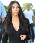 Kim Kardashian - Going to a movie theater in Southampton, NY 6/30/14