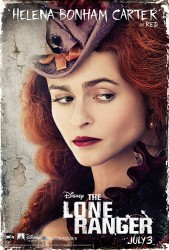 Helena Bonham Carter as Red Harrington in The Lone Ranger (photos, promotional images, screencaps and videos)