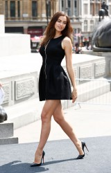 Irina Shayk - 'Hercules' Photo Call in London 7/2/14