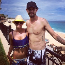Kaley Cuoco in Cabo San Lucas - 7/3/14