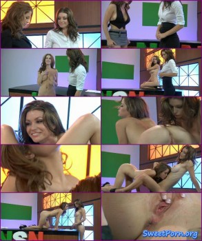 Emily Addison, Heather Vandeven – Naked News
