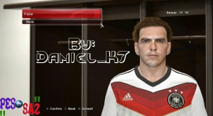 Download Philipp Lahm Face by Daniel_K7 For PES 2014