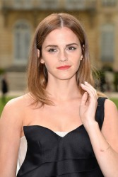 Emma Watson - Christian Dior fashion show in Paris 7/7/14