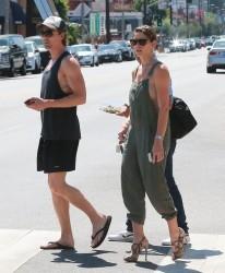 Ashley Greene - Meeting friends for lunch in LA 7/7/14