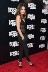 Keri Russell - 'Dawn of the Planet of the Apes' Premieres in NYC 7/8/14