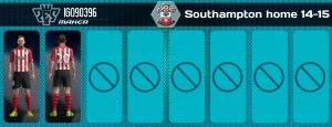 Download PES 2013 Southampton 14-15 Home Kit by iGo