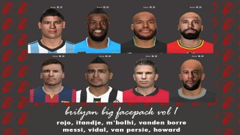 Download World Cup Pes 2014 facepack by brilyan