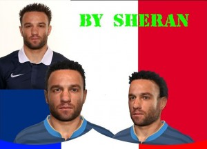 Download Mathieu Valbuena Face by sheran For PES 2014