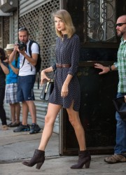 Taylor Swift - Leaving the gym in NYC 7/16/14