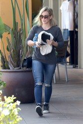 Hilary Duff out in LA 07-17-2014