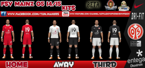 Download PES 2014 FSV Mainz 14-15 Kits by Firas Zinou