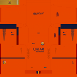 Download PES 2014 FC Barcelona 14-15 Liga and CL v2 Kits by Tunevi