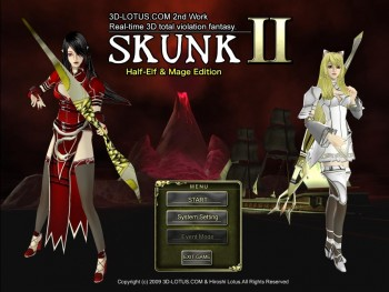 SKUNK -II (Half-elf & mage edition) comic