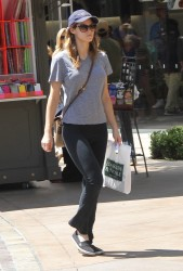 Alexandra Daddario out at The Grove in LA  07-19-2014