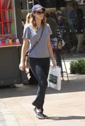 Alexandra Daddario out at The Grove in LA  07-19-2014
