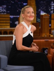 Kate Hudson The Tonight Show Starring Jimmy Fallon 07-21-2014