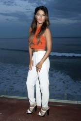 Jessica Szohr Just Jared x RESOLVE Clothing Dinner in Malibu 07-19-2014