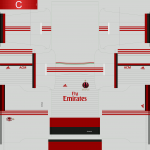 AC Milan 14-15 Kits Version 2 by Tunevi