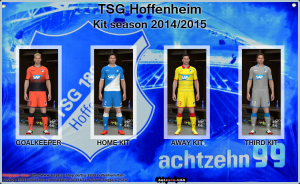 Download Kit TSG Hoffenheim season 14/15 by Antonio_AHA