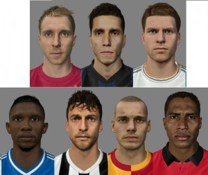 New Super Patch of Faces Vol.11 for FIFA14 by Son-of-God