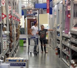 Ashley Benson Shopping at Lowe's in Hollywood 07-22-2014