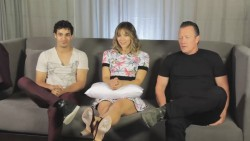 Katharine McPhee - Scorpion Cast Interview at Comic Con - July 24, 2014