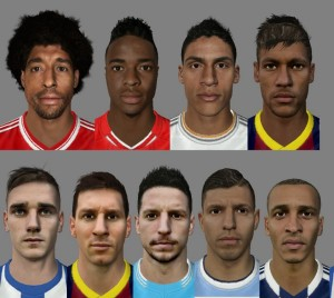 New Super Patch of Faces Vol.14 for FIFA14 by Son-of-God