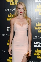 """Lindsay Ellingson - """"A Most Wanted Man"""" Premiere in NYC 7/22/14"""