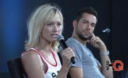 Yvonne Strahovski - Nerd HQ panel at San Diego Comic Con 7/25/14