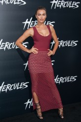 "Irina Shayk - ""Hercules"" Premiere in Hollywood 7/23/14"