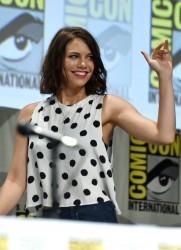 Lauren Cohan 'The Walking Dead' Comic-Con Panel 07-25-2014