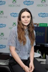 Elizabeth Olsen Microsoft VIP Lounge at Comic-Con in San Diego 07-26-2014