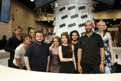 Sophie Turner Warner Bros. at Comic-Con 07-25-2014
