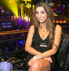 Luisa Zissman and Jasmine Waltz going full on lesbian with each other on a night out in London 2/1/14 (34 pics inside)