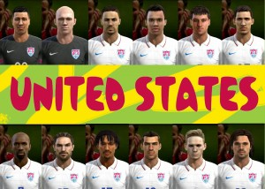 Download USA facepack FIFA World Cup 2014 by cirkac-95