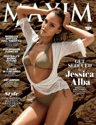 Jessica Alba - Maxim magazine September 2014