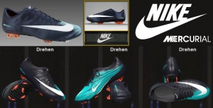 Download Nike Mercurial Vapor Superfly II - Dark Obsidian/White/Cool Mint