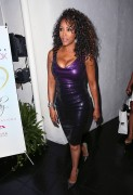 Vivica Fox - Celebrates Her 50th Birthday in Beverly Hills (8/2/14) Busty!!