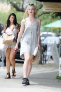 Elle Fanning - Out for Lunch 8/02/14