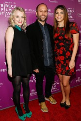 Evanna Lynch nice legs in pantyhose at the Tribeca Film Festival Reception in L.A. 3/18/13