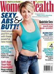 Kaley Cuoco - Women's Health September 2014