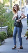 Sara Paxton leaving Ken Paves Salon in West Hollywood 08/07/14