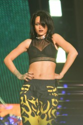 Rihanna on the 1st night of The Monster Tour at the Rose Bowl in Pasada 08-08-2014