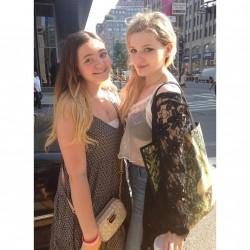 Abigail Breslin With a Fan in New York City - August 4, 2014