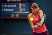 Yanina Wickmayer @ Day 1 of the Western and Southern Open in Cincinnati - August 9-2014 x2